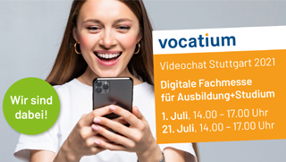 vocatium Videochat Stuttgart: digitale Messe hilft bei der Berufswahl